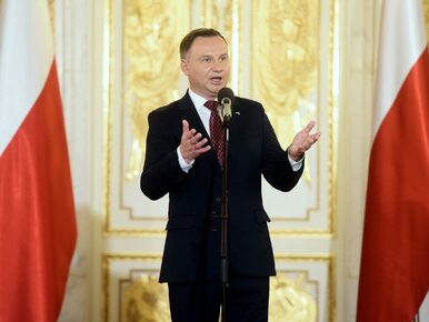 """Prezydent Duda odniósł się do afery KNF i """"planu Zdzisława"""". """"Docierały..."""