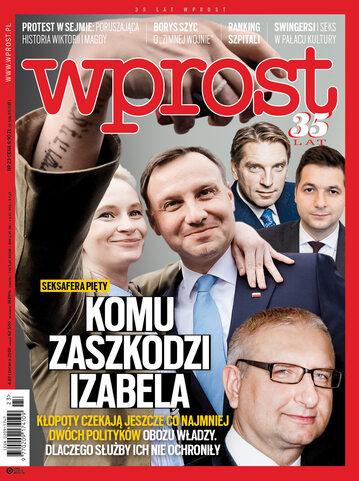 Okładka tygodnika Wprost nr 23/2018 (1838)
