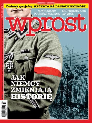 Okładka tygodnika Wprost nr 32/2016 (1748)