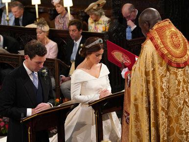 Niezwykły ślub w brytyjskiej rodzinie królewskiej. Zobacz zdjęcia z...