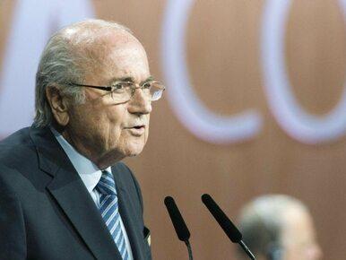 Blatter: Nie rezygnuję. Oddaję się w ręce kongresu FIFA
