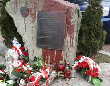 Znieważenie pomnika Żołnierzy Wyklętych. Policja zatrzymała sprawcę