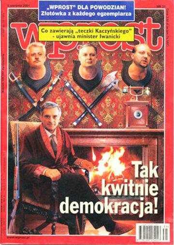 Okładka tygodnika Wprost nr 31/2001 (975)