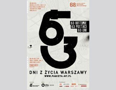 63 dni z życia Warszawy. 40 m kw. graffiti o powstańcach artystach