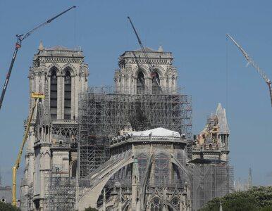 Pierwsza od czasu pożaru msza w Notre Dame. Księża założą kaski, będzie...