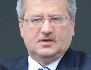 Komorowski: Rosjanie będą maszerować przez Warszawę? Zachowujcie się...