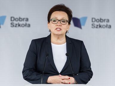 """Zalewska odpowiada na obliczenia ZNP. """"Nikt nie stracił pracy w wyniku..."""