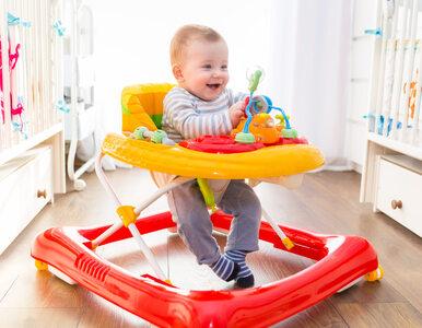 Pozwalasz dziecku korzystać z chodzika? Popełniasz duży błąd