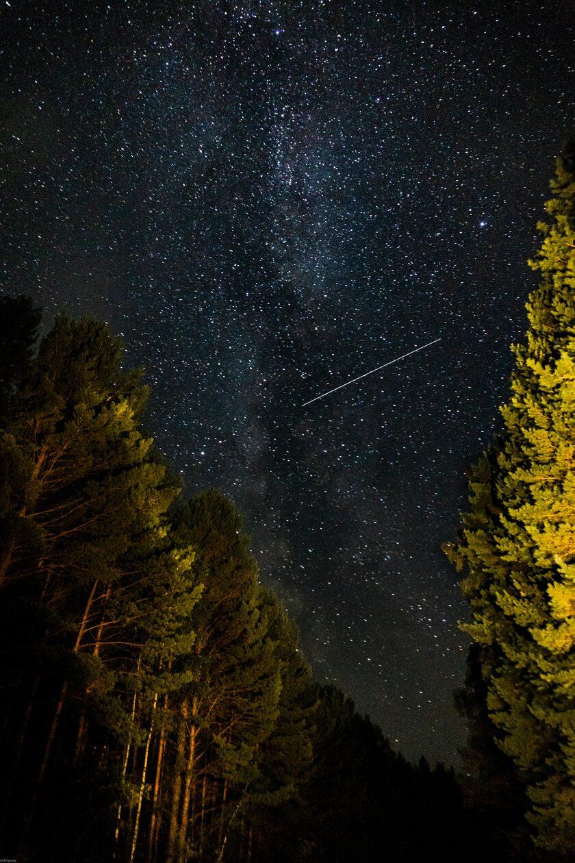 Deszcz meteorów, zdj. ilustracyjne