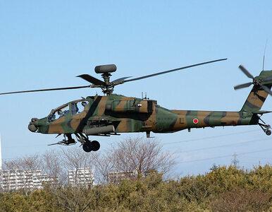 Śmigłowiec bojowy Apache wbił się w dom mieszkalny. Spadł blisko szkoły...