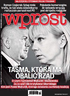 Okładka tygodnika Wprost nr 29/2014 (1637)