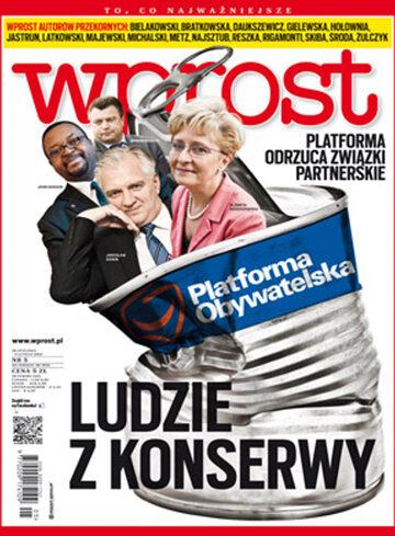 Okładka tygodnika WPROST: 5/2013