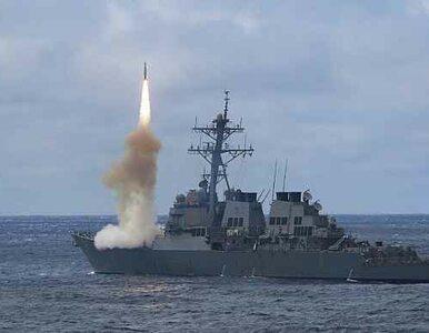 Pożar na niszczycielu US Navy. Rakieta eksplodowała tuż po starcie