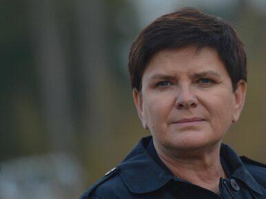 Beata Szydło o doniesieniach na swój temat: Ciężko nie mieć wrażenia, że...