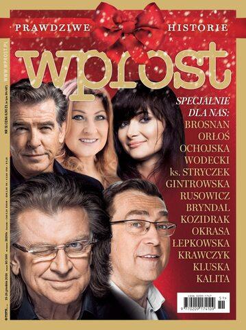 Okładka tygodnika Wprost nr 51/2016 (1767)