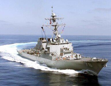 Amerykańskie okręty wojenne pojawiły się w pobliżu spornych wysp