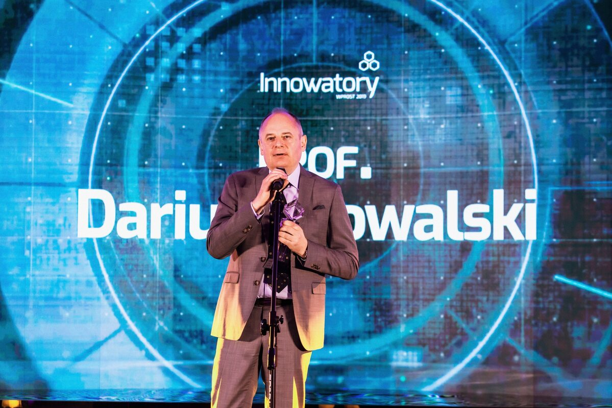prof. Dariusz Kowalski prof. Dariusz Kowalski – laureat nagrody Osobowość
