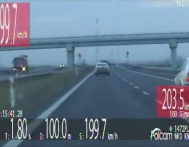 Niecodzienny pościg na Dolnym Śląsku. Kobieta jechała ponad 200 km/h