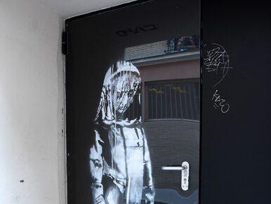 Banksy namalował obraz w hołdzie ofiarom zamachu. Ktoś go ukradł