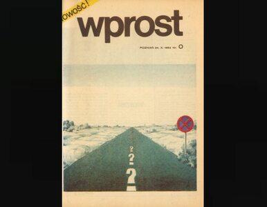 """Zapraszamy na podróż przez 30 lat tygodnika """"Wprost"""""""