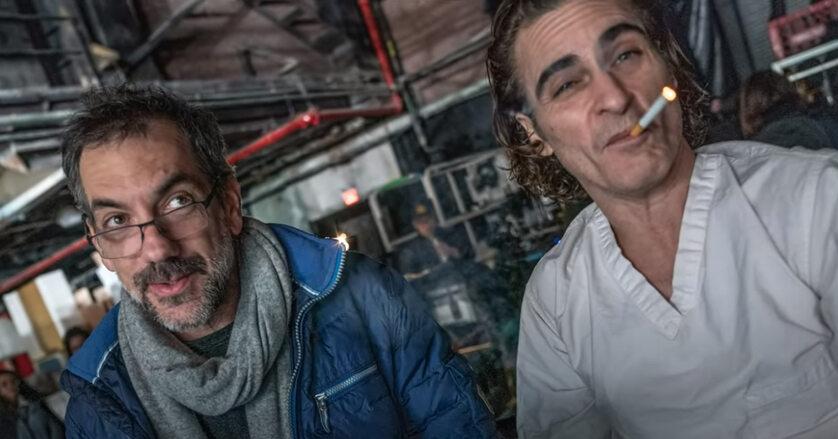 Todd Phillips i Joaquin Phoenix