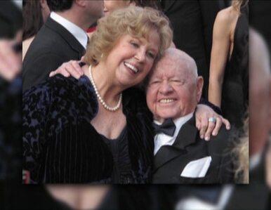 Mickey Rooney przed śmiercią wydziedziczył żonę i ośmioro dzieci
