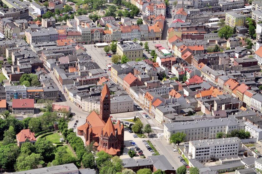 Panorama Ostrowa Wielkopolskiego