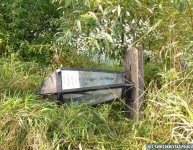 Sobków. Dwóch nastolatków ukradło 100-kilogramową skarbonę zamkową