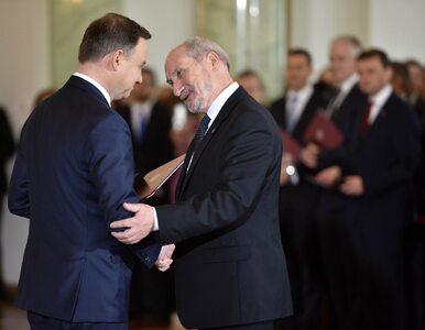 Prezydent wskazał Macierewicza na marszałka seniora. Wcześniej nazywał...