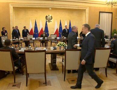 Narada u premiera ws. Ukrainy. Przybył Palikot, Kaczyński, Kwaśniewski...