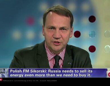Sikorski: Musimy reagować na działania Rosji