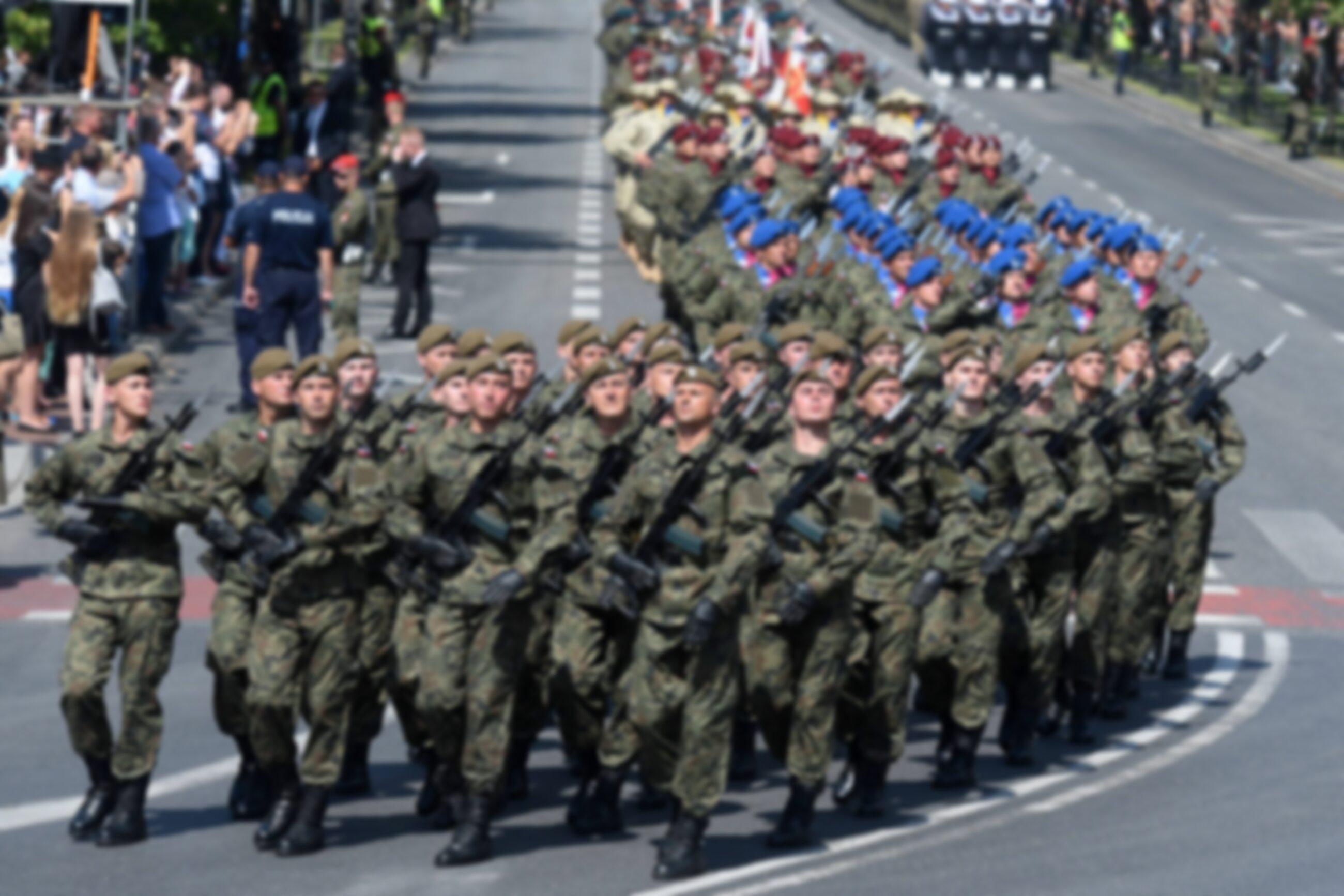 Defilada wojskowa w 2017 roku