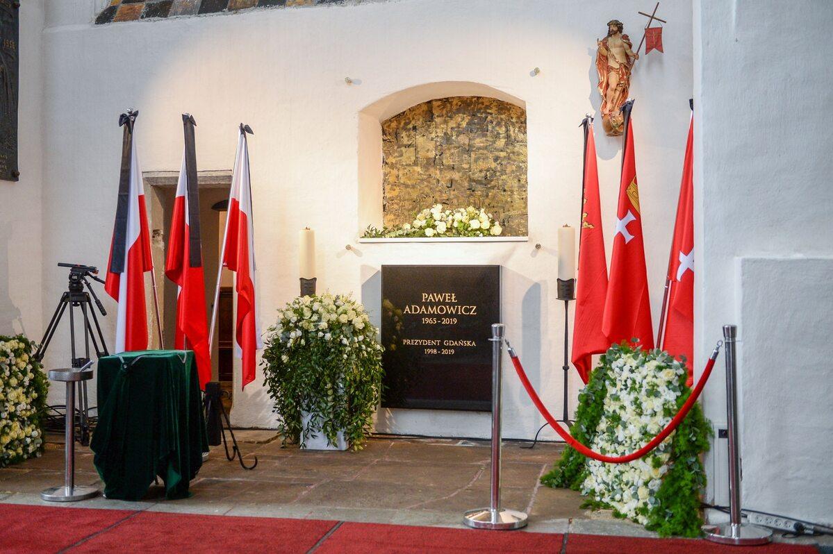 Bazylika Mariacka. Miejsce pochówku Pawła Adamowicza