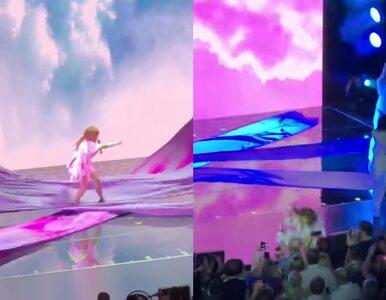 Paula Abdul spadła ze sceny w trakcie koncertu w Mississippi
