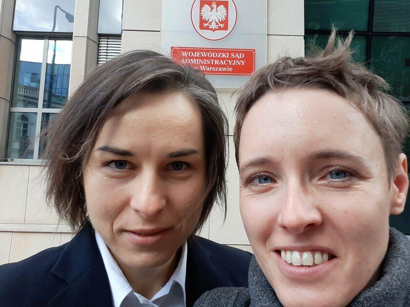 Agata Kowalska oraz Emilia Barabasz