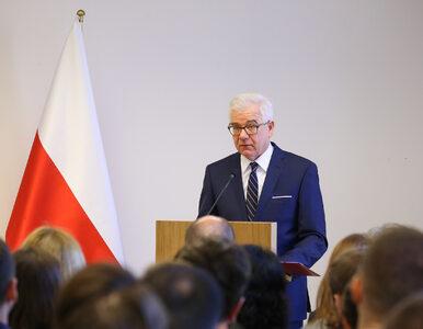 """Szef MSZ potwierdza: Netanjahu mówił o """"systemowym udziale Polaków w..."""