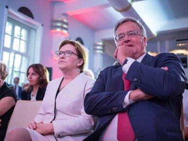 """Komorowski """"jedynką"""" w wyborach do PE? """"Dziennikarze coś wymyślają"""""""