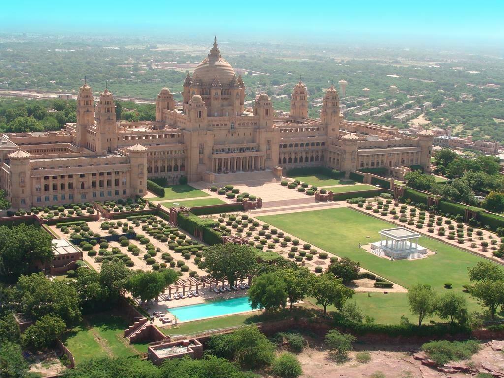 Umaid Bhawan Palace Jodphur, Indie