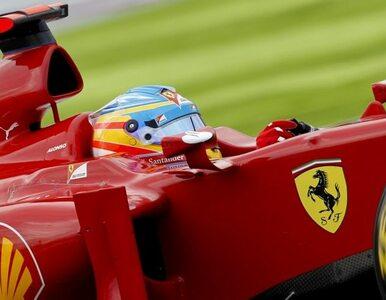 F1: kolizja na torze. Alonso dalej nie pojedzie