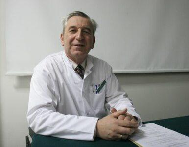 Prof. Szaflik: zawsze przestrzegałem prawa