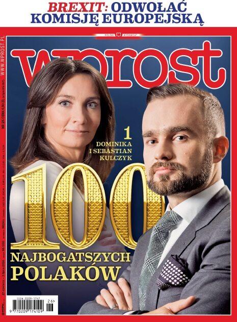 Okładka tygodnika Wprost nr 26/2016 (1742)