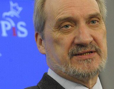 Prokurator od sprawy Macierewicza zrezygnował