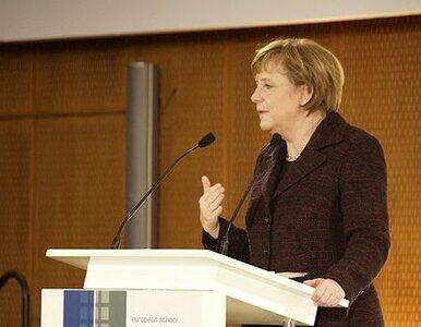 Alarm bombowy w urzędzie kanclerz Merkel. Media: mogli być ranni