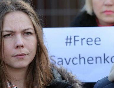 Władze rosyjskie zatrzymały na granicy siostrę Sawczenko. Odebrano jej...