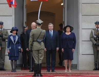 Komorowscy goszczą norweską parę królewską