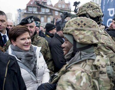 Szydło na powitaniu Amerykanów: Bezpieczeństwo ojczyzny i Polaków jest...