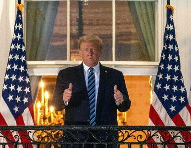 """Donald Trump znów szokuje. """"Nie bójcie się COVID-19"""""""