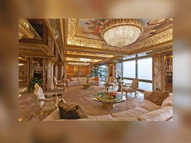 Przepych i złote meble – nowojorski apartament Donalda Trumpa